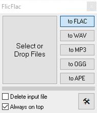 FlacをMP3に変換する